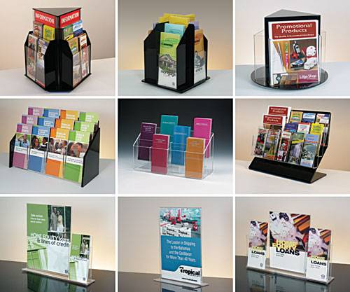 Acrylic Brochure Holders