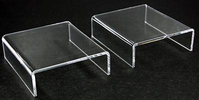 Acrylic Display Riser for effective and focused in store display arrangements