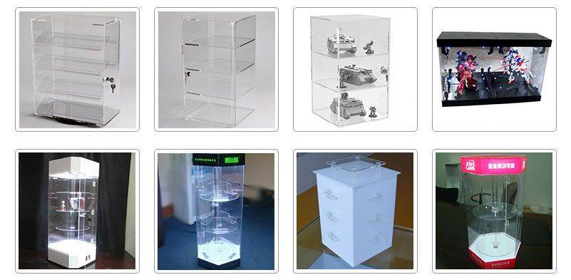 perspex acrylic display cases