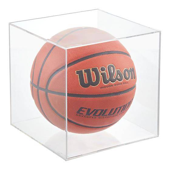 1-Basketball & Soccer Ball Display Cube