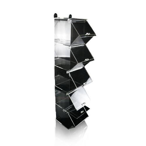 Supermarché détail en acrylique présentoirs