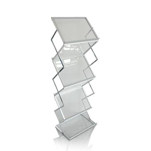 Promotion point d'achat acrylique étagères d'affichage