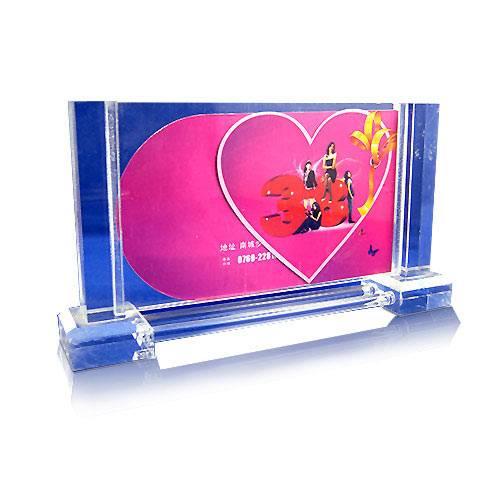 APF-P834-Freestanding Acrylic Frame