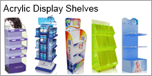 Acryl-Display-Regale