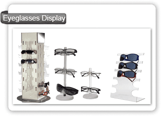 Lentes de acrílico Display