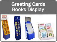 Gratulationskort & böcker Display