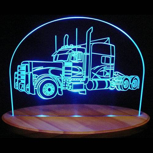Akryl Oplyste Edge LED Bil Lit Sign