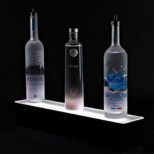 ワンティアイルミネーションLED酒の棚の表示