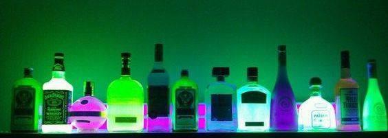 Illuminated Baseline Bar Display