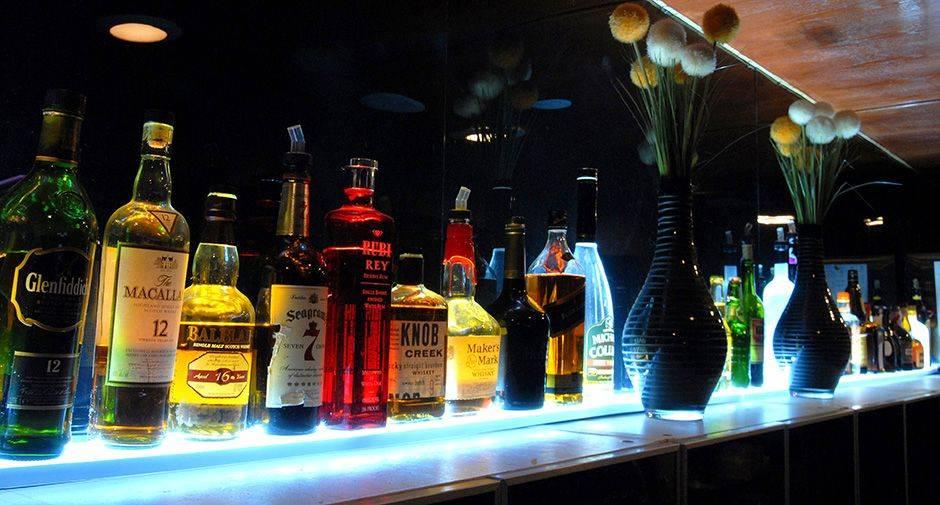 Illuminated Bottle Displays 1