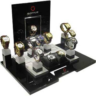 Retail Table Top Acrylic Watch Holders