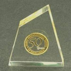 Coin Embedded in Lucite Acrylic