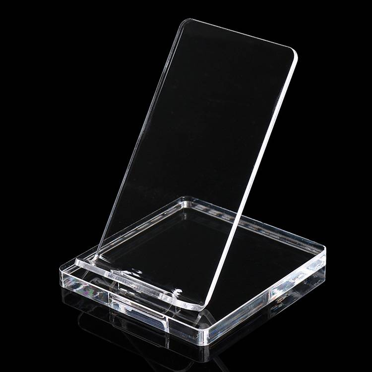 Clear Acrylic Cell Phone Stand Display Holder