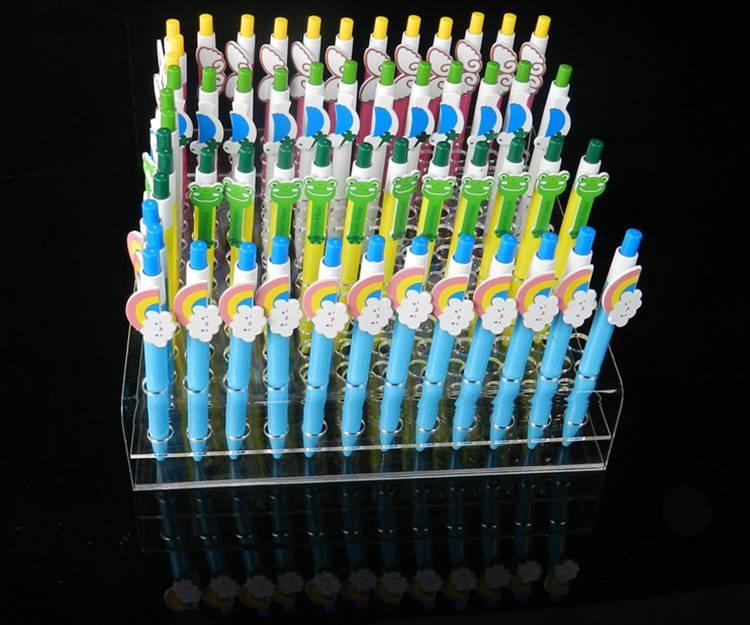 Прозрачный акриловый Pen Карандаш держатель стенд XH0149