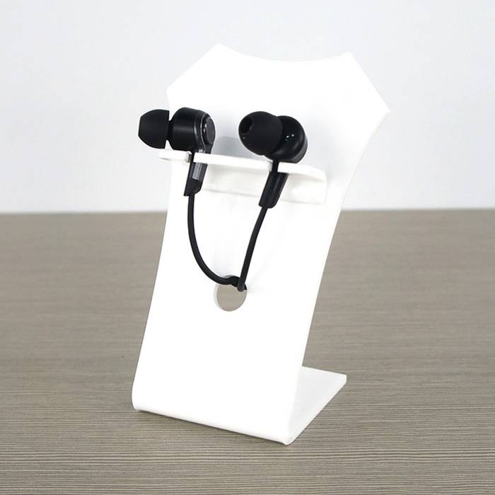 Tabletop Acrylic Headset Display Stand
