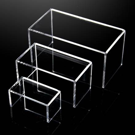 Thickening Clear Acrylic Seperate Display Risers
