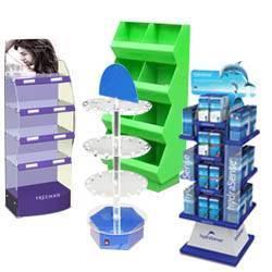 Acrylic Floor Display Shelves